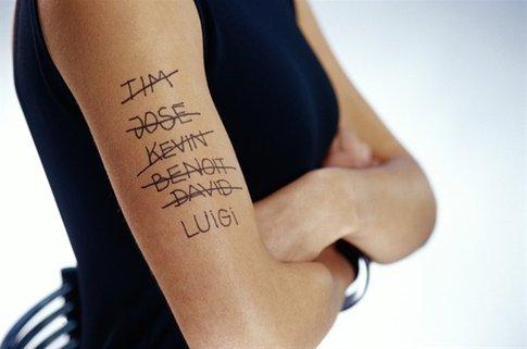 rimozione del tatuaggio