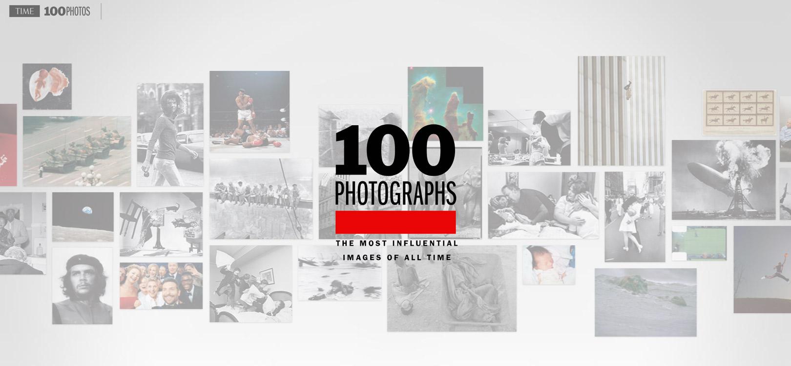 100 foto simbolo secondo il Time