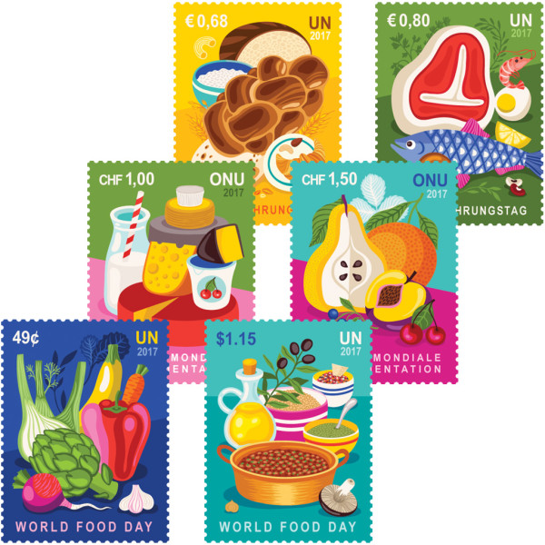 WFD17 stamps by Helen Dardik